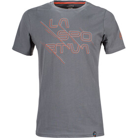 La Sportiva Sliced Logo T-Shirt Men Slate